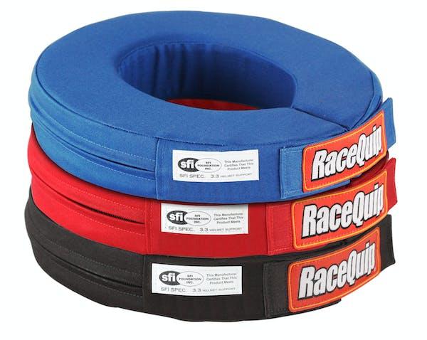 Racequip 337017 SFI 360 Degree Helmet Support Collar (Red)