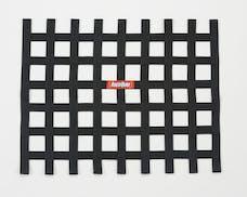 "Racequip 721005 Non-SFI Ribbon-Style Race Car Window Net (Black, 18""x24"")"