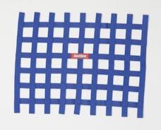 "Racequip 721025 Non-SFI Ribbon-Style Race Car Window Net (Blue, 18""x24"")"