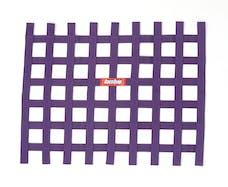 "Racequip 721055 Non-SFI Ribbon-Style Race Car Window Net (Purple, 18""x24"")"