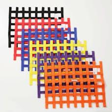 """Racequip 725005 SFI 24.1 Ribbon-Style Race Car Window Net (Black, 18""""x24"""")"""