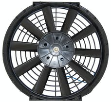 "RPC (Racing Power Company) R1200 10"" universal straight blade cooling fan 12v"
