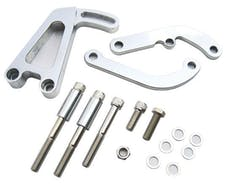 RPC (Racing Power Company) R4368 SBC BILLET ALUM POWER STEERING BRACKET CHOME