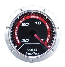 "RPC (Racing Power Company) R5716 Mechanical 2"" vacuum gauge"