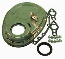 RPC (Racing Power Company) R7220X Raw sb chevy timing cover/tab st