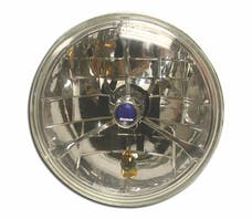 "RPC (Racing Power Company) R7406 7"" ROUND HEADLIGHT W/AMBERT TURN SIGNAL"