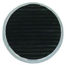 RPC (Racing Power Company) R8502 Chrome round brake pad w/ insert ea