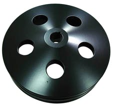 RPC (Racing Power Company) R8847B Alum gm power steering pulley black