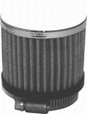 RPC (Racing Power Company) R9309 Chrome clamp-on filter breather