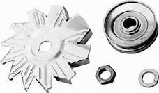 RPC (Racing Power Company) R9446 Gm/ford single groove pulley/fan ea