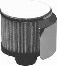 RPC (Racing Power Company) R9516 Push-in filter breather w/shield ea