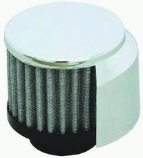 RPC (Racing Power Company) R9517X Clampon filter breather w/shield ea