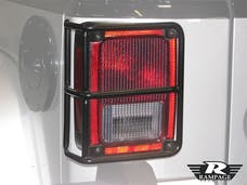 Rampage Products 86665 Euro Headlight Guards, Black