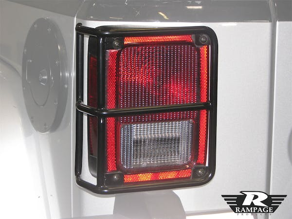 Rampage Products 86665 Light Guards Black