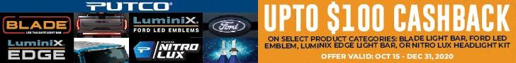 Putco Rebates - Crown Auto Parts