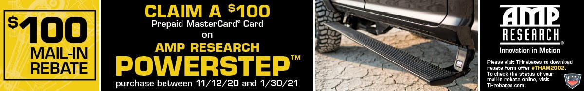AMP Research Power Step Promo - Crown Auto Parts