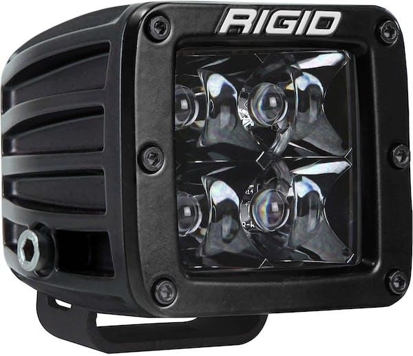 RIGID Industries 201213BLK D-Series PRO Midnight Black Optic Spot Light