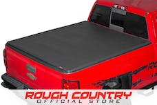 Rough Country D-44509550 1st Gen. Soft Tri-Fold Tonneau Bed Cover (5.5-foot Bed)
