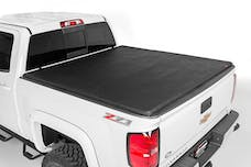 Rough Country 44207650 Soft Tri-Fold Tonneau Bed Cover (6.5-foot Bed w/o Cargo Management System)