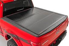 Rough Country 47113551 GM Low Profile Hard Tri-Fold Tonneau Cover (07-13 1500   5.5' Bed W/ Rail Caps)
