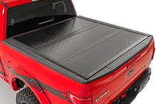 Rough Country 47214651 Ford Low Profile Hard Tri-Fold Tonneau Cover (08-16 SUPER DUTY   6.5' Bed)