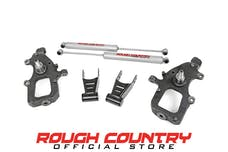 Rough Country 800.20 Front 2-inch / Rear 2-inch Lowering Kit