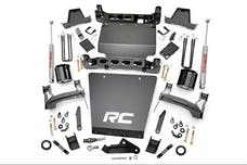 Rough Country 17320 7-inch Suspension Lift Kit (Factory Stamped Steel Control Arm Models)