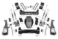 Rough Country 253X 7.5-inch Non-Torsion Drop Suspension Lift Kit
