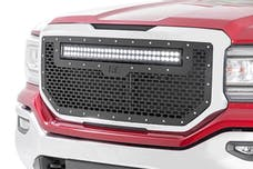 Rough Country 70158 Mesh Grille w/LED