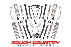 Rough Country 68322 6-inch X-Series Suspension Lift System