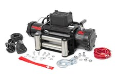 Rough Country PRO9500 9,500-Lb PRO Series Electric Winch w/ Steel Cable