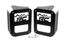 Rough Country 1078 Wrangler JK Tail Light Covers - Mountain Design (Pair)