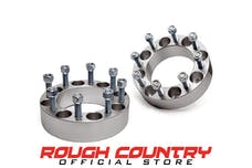 Rough Country 1095 2-inch Wheel Spacer Pair (8-by-6.5-inch Bolt Pattern)