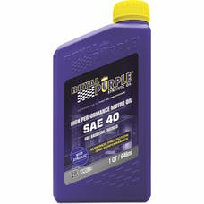 Royal Purple 01040 SAE 40 Mono Grade Engine Oil Qt. Bottle