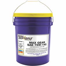 Royal Purple 05301 75W-140 Max Gear Oil 5 Gal. Pail
