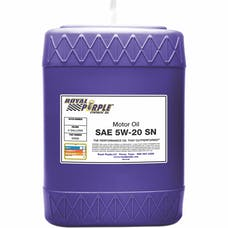 Royal Purple 05520 5W-20 Passenger Car Engine Oil 5 gal. Pail