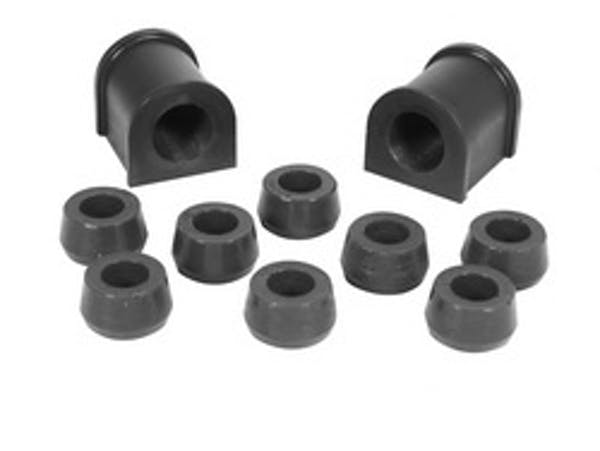 Rugged Ridge 1-1102BL Front Swaybar Bushing Kit; Black; 15/16 Inch; 87-95 Jeep Wrangler YJ