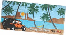 Rugged Ridge 14230.01 Beach Towel, Rugged Ridge