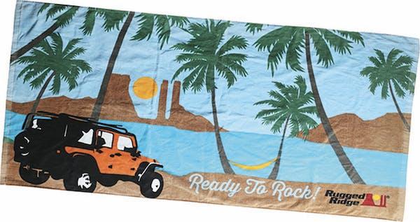 Rugged Ridge 14230.01 Beach Towel, Rugged Ridge