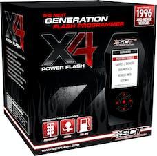 SCT 7215 X4 POWER FLASH PROGRAMMER; PRE-LOADED;
