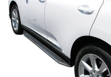 Steelcraft 133150 STX100 Running Boards Black/Stainless Trim
