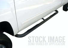 "Steelcraft 200110 3"" Round Sidebars, Black"