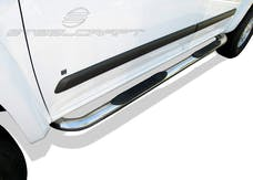"Steelcraft 202617 3"" Round Sidebars, S/S"