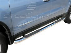 "Steelcraft 203807 3"" Round Sidebars, S/S"