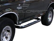 "Steelcraft 211070 3"" Round Sidebars, Black"