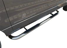 "Steelcraft 212407 3"" Round Sidebars, S/S"