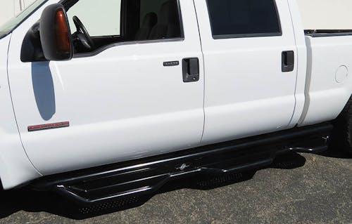 Steelcraft 85-12450 HD Wheel to Wheel Sidebars, Semi-Gloss Black