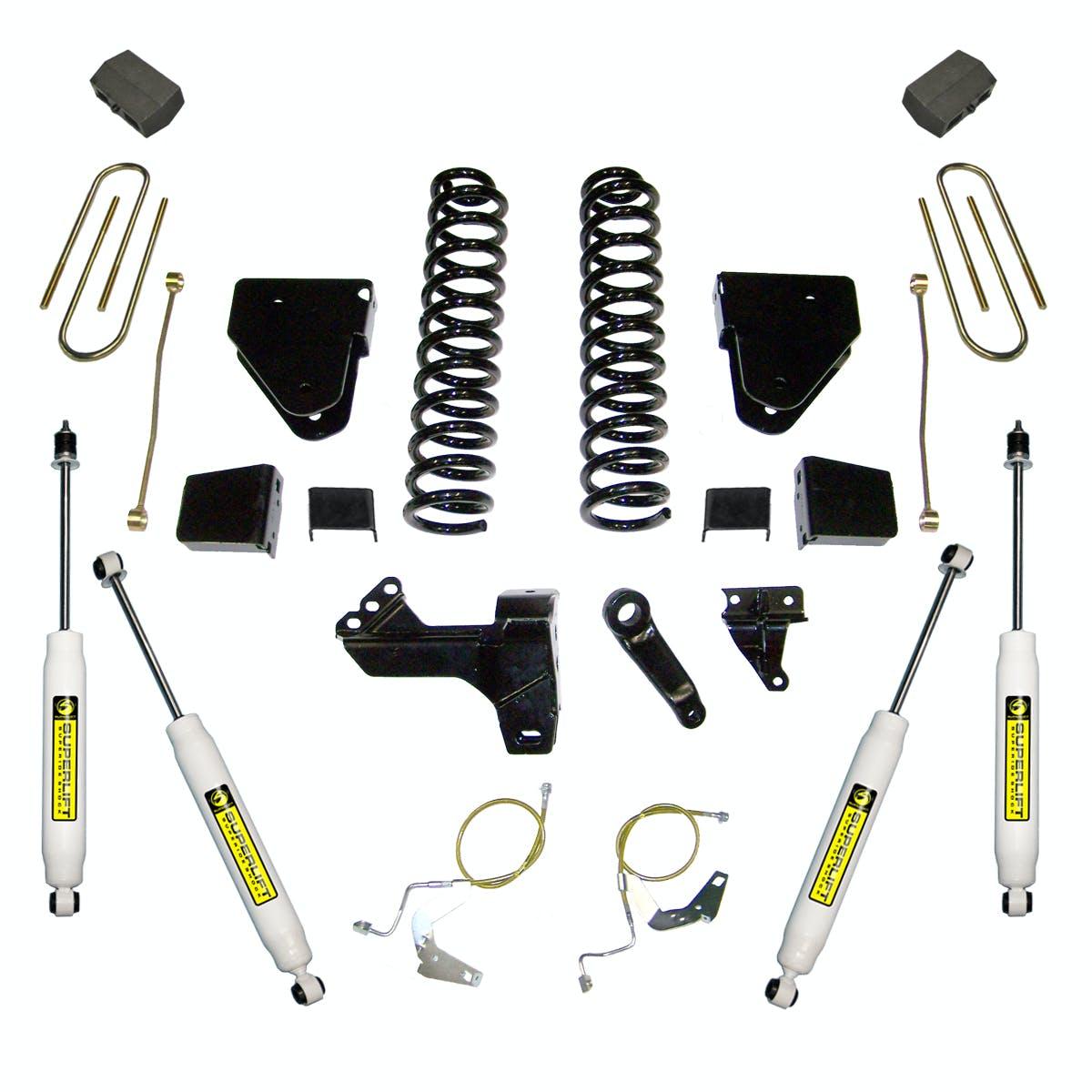 """Superlift 6-7.5/"""" Bracket Steering Stabilizer Fits 99-06 GM Silverado Sierra 1500"""