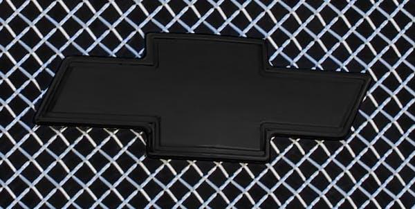 T-Rex Grilles 19100B Emblem Exterior Trim, Black, Aluminum, 1 Pc, Bolt-On