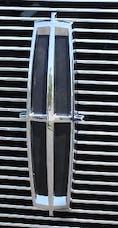 T-Rex Grilles 19556 Emblem Exterior Trim, Black, Mild Steel, 1 Pc, Bolt-On